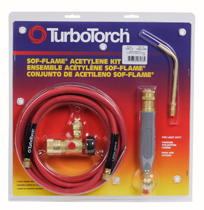 WSF-4 Torch Kit Sof-Flame, For B tank, Air Acetylene (0386-0090)