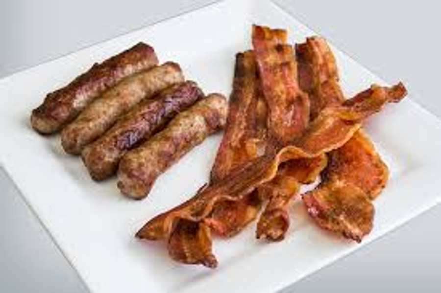 Sausages and Bacon - 1/2 pan