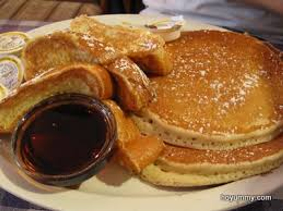 Pancakes and French Toast - 1/2 pan.