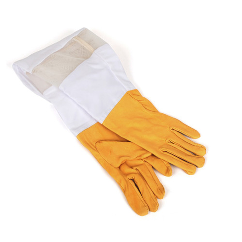 Goatskin Women Ventilated Gloves