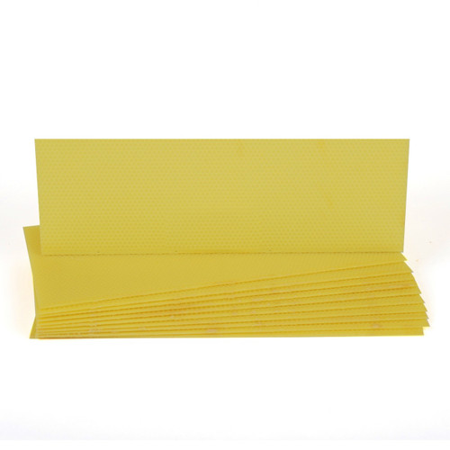 Plastic Medium Foundation - Yellow 10pk
