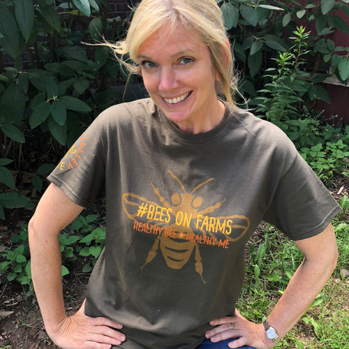 Bees on Farms T-shirt