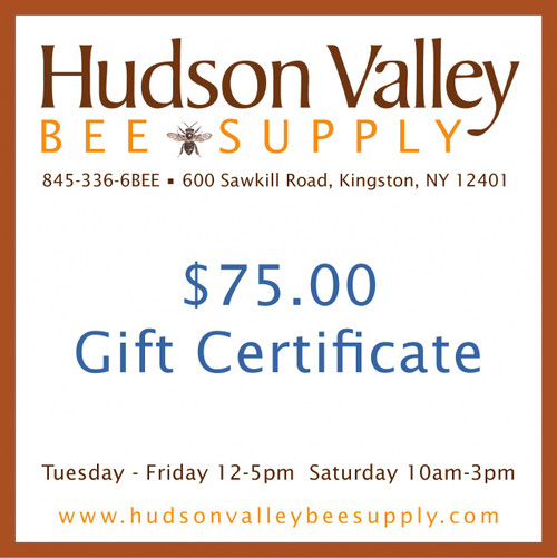 Gift Certificate - $75