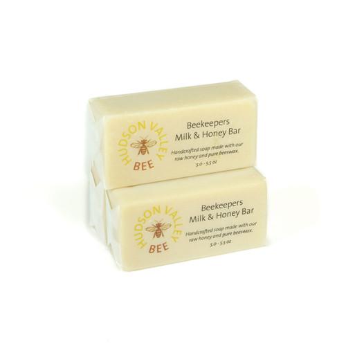 Beekeepers Milk & Honey Soap - Set of Three Bars