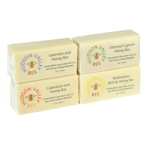 HVBee Handcrafted Soap Set - Set of Four Bars