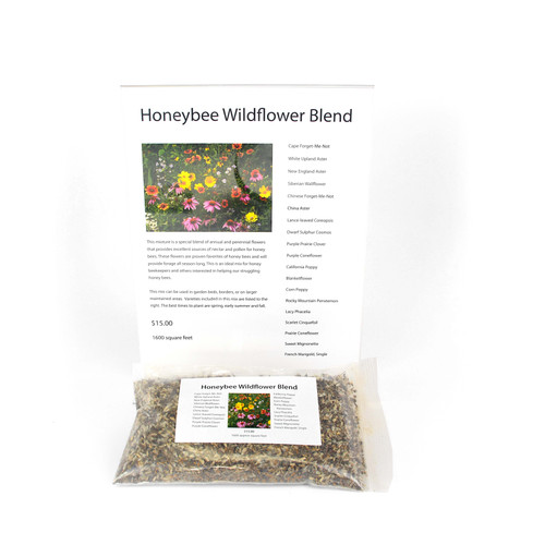 Honey Bee Wildflower Blend Seeds