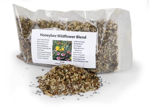 Honey Bee Wildflower Blend Seeds