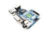 Dell Latitude E6420 USB / VGA / RJ-45 Circuit Board Discrete Nvidia Video - 3258H