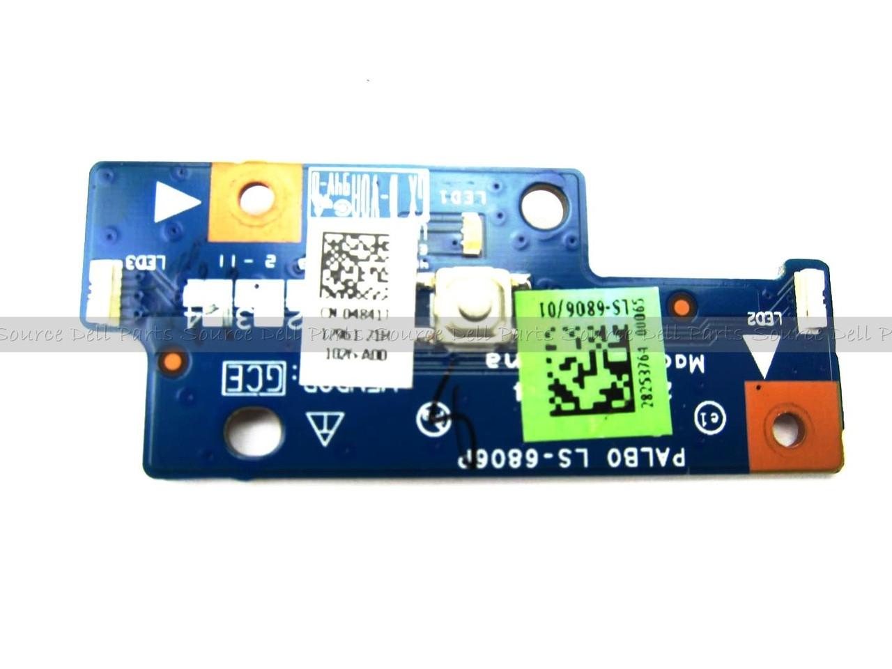 Alienware M14x Laptop Power Button Switch Board - 4841J