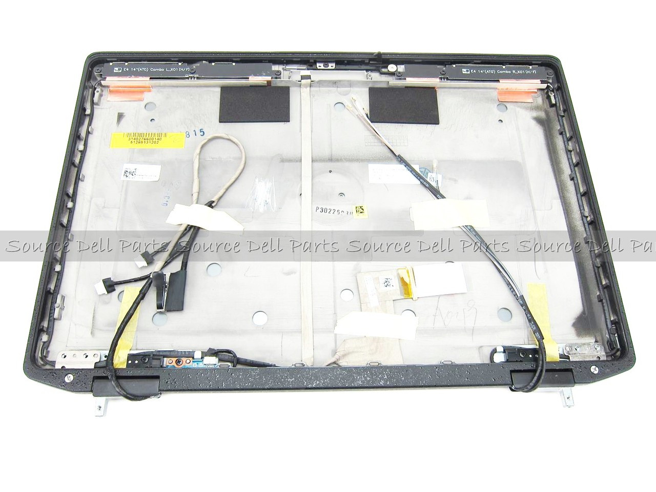 """Dell Latitude E6430 ATG Touchscreen 14"""" LCD Back Cover Lid & Hinges - CPDRV"""