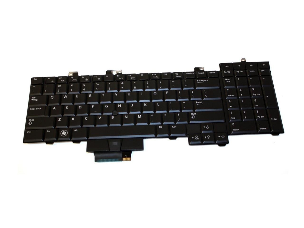 Dell Precision M6400 Backlit Laptop Keyboard - F759C
