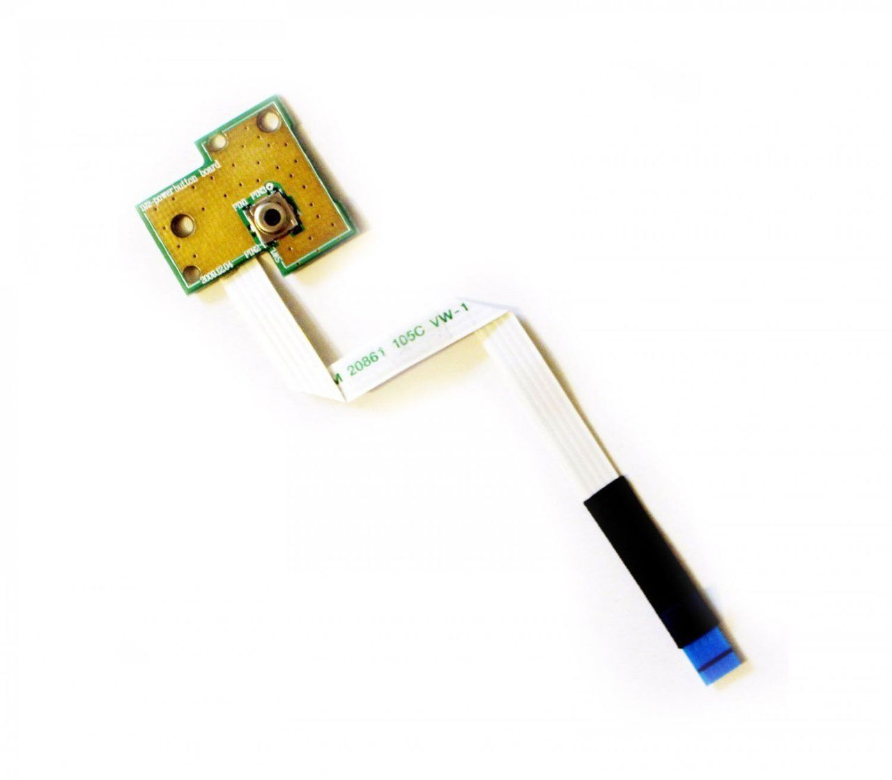 Dell Inspiron M5030 N5030 Power Button Board W Ribbon Cable 50.4EM09.001