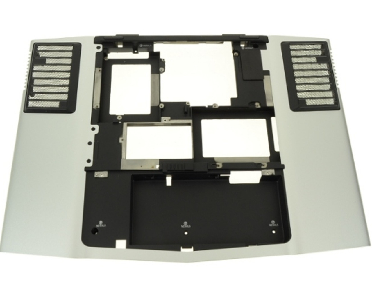 Alienware M17XR1 M17XR2 Silver Laptop Bottom Base Assembly - Y727M (A)