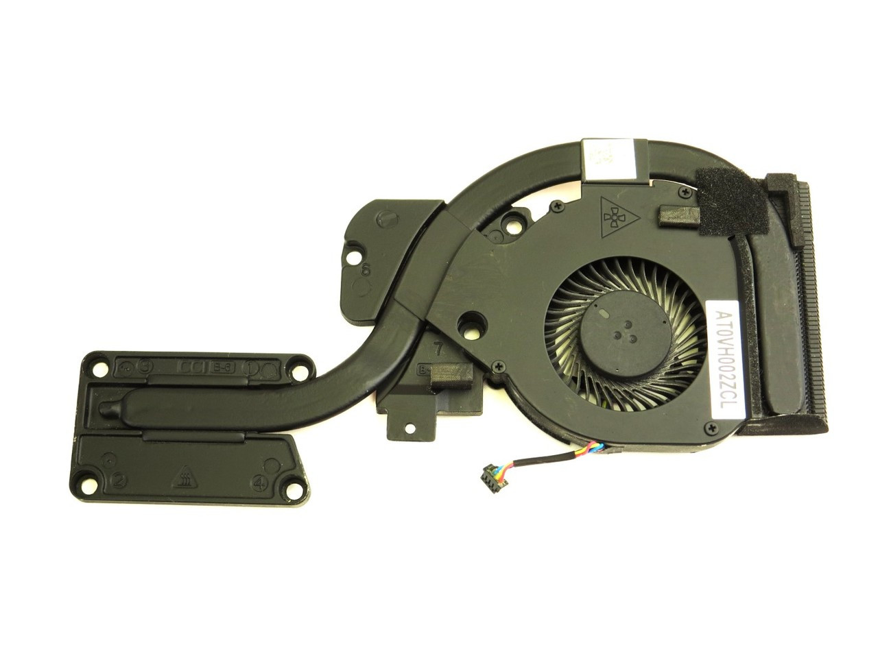 Dell Latitude E6440 CPU FAN and Heatsink Assembly For Discrete Video - GXC1X