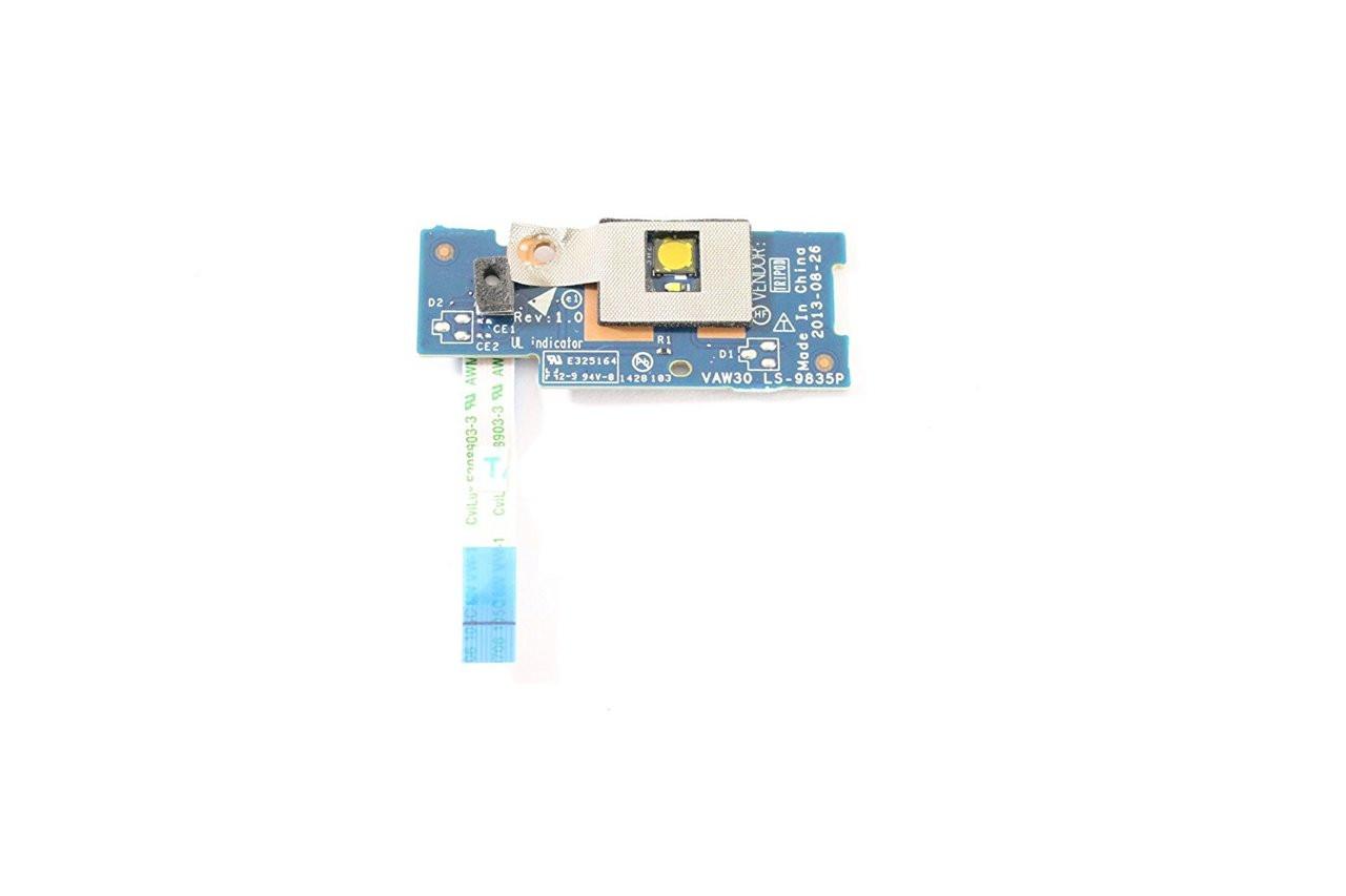 Dell Latitude E5540 E5440 Power Button Microphone Board - LS- 9835P