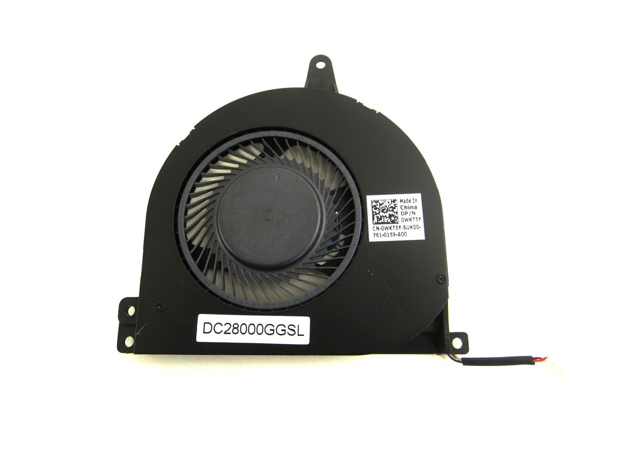Dell Latitude E5470 CPU Cooling Fan - For Dual Core CPU - WKT5Y