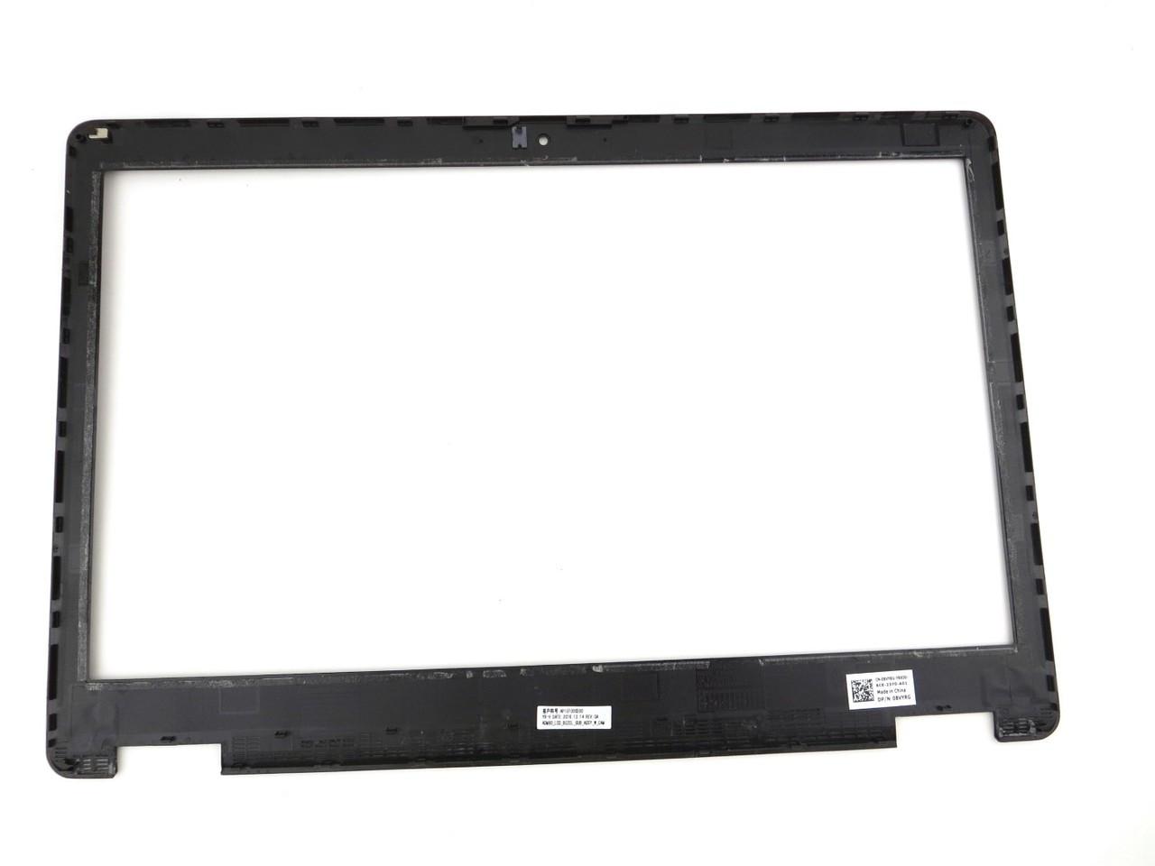 Dell Latitude E5570 / Precision 15 3510 LCD Front Trim Cover Bezel Plastic - With Camera Port - Non Touchscreen - 8VYRG 08VYRG