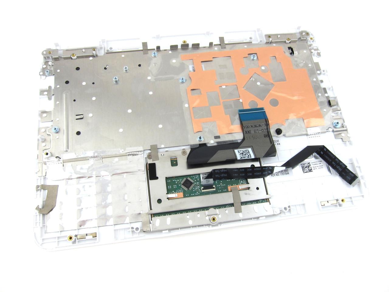 Dell Inspiron 11 3168 / 3169 White Palmrest Touchpad Keyboard Assembly - XXT0V