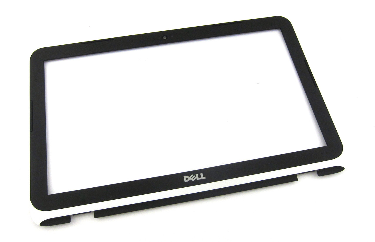"""Dell Inspiron 11 3162 / 3164 11.6"""" Front LCD Bezel - White Trim -  Y4TN0"""