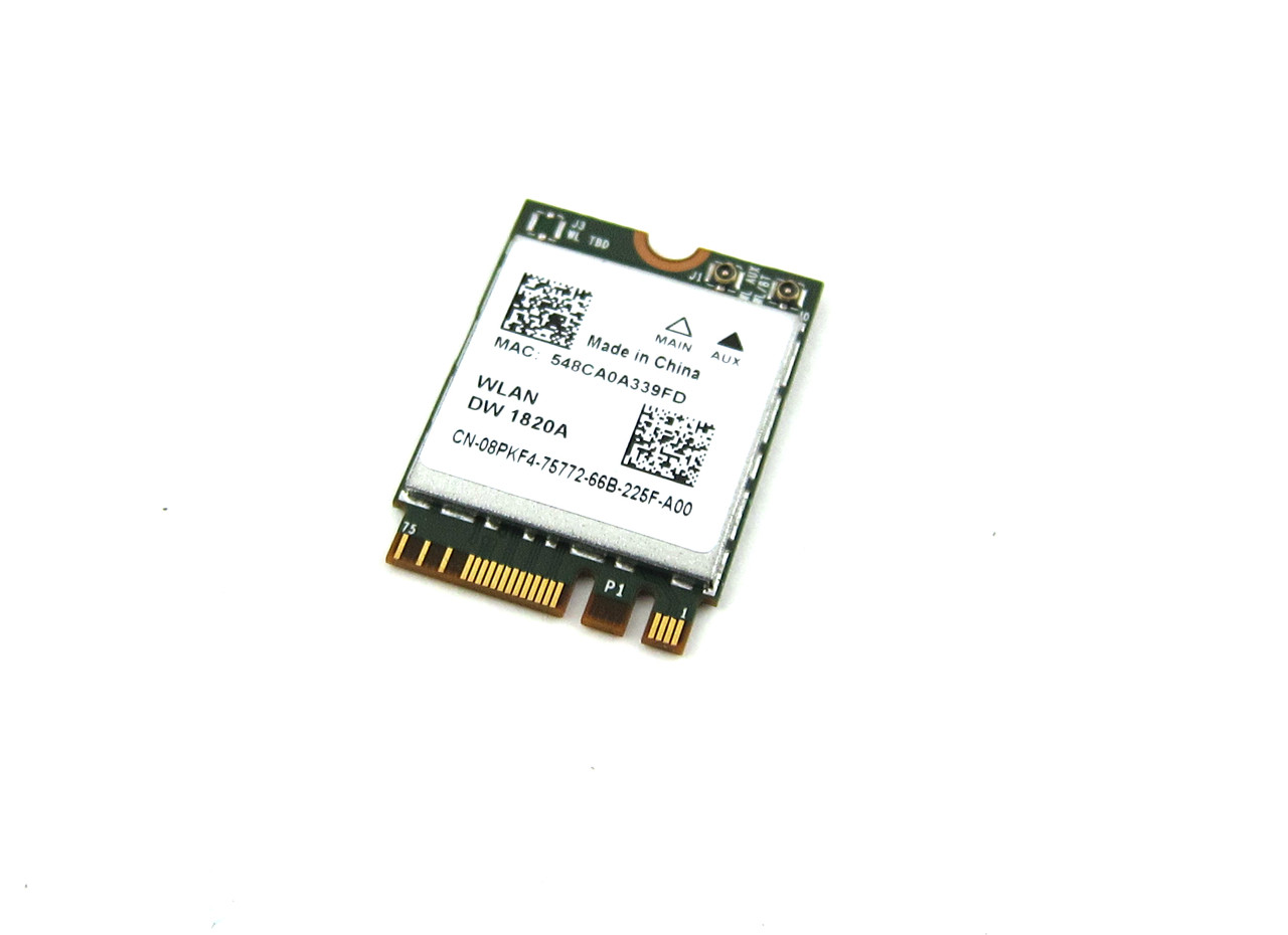 Dell Wireless 1820A DW1820 WiFi 802.11AC + Bluetooth 4.1 M.2 Card - 8PKF4