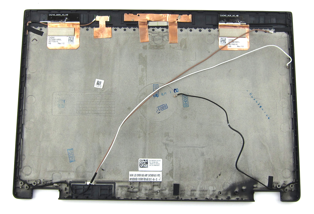 Dell Latitude 5289 2-in-1 LCD Back Cover Assembly - RP0P4