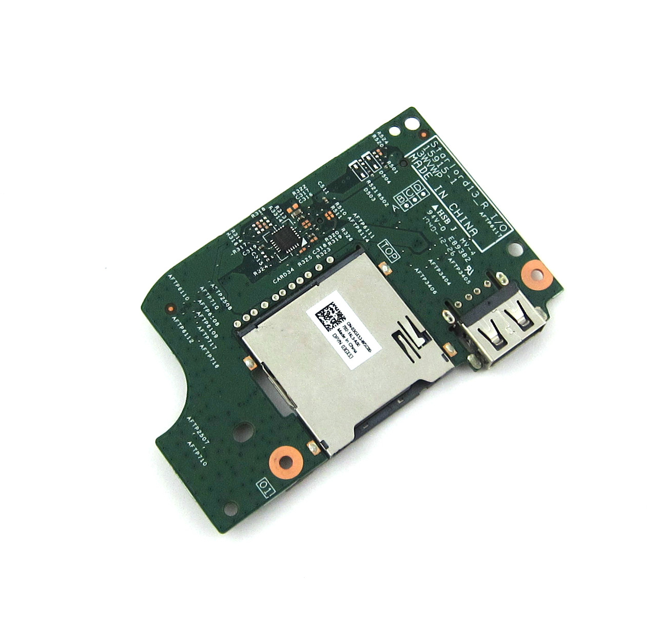 Dell Inspiron 15 5568 / 13 5368  5378 USB / SD Card Reader Circuit Board - 3GX53