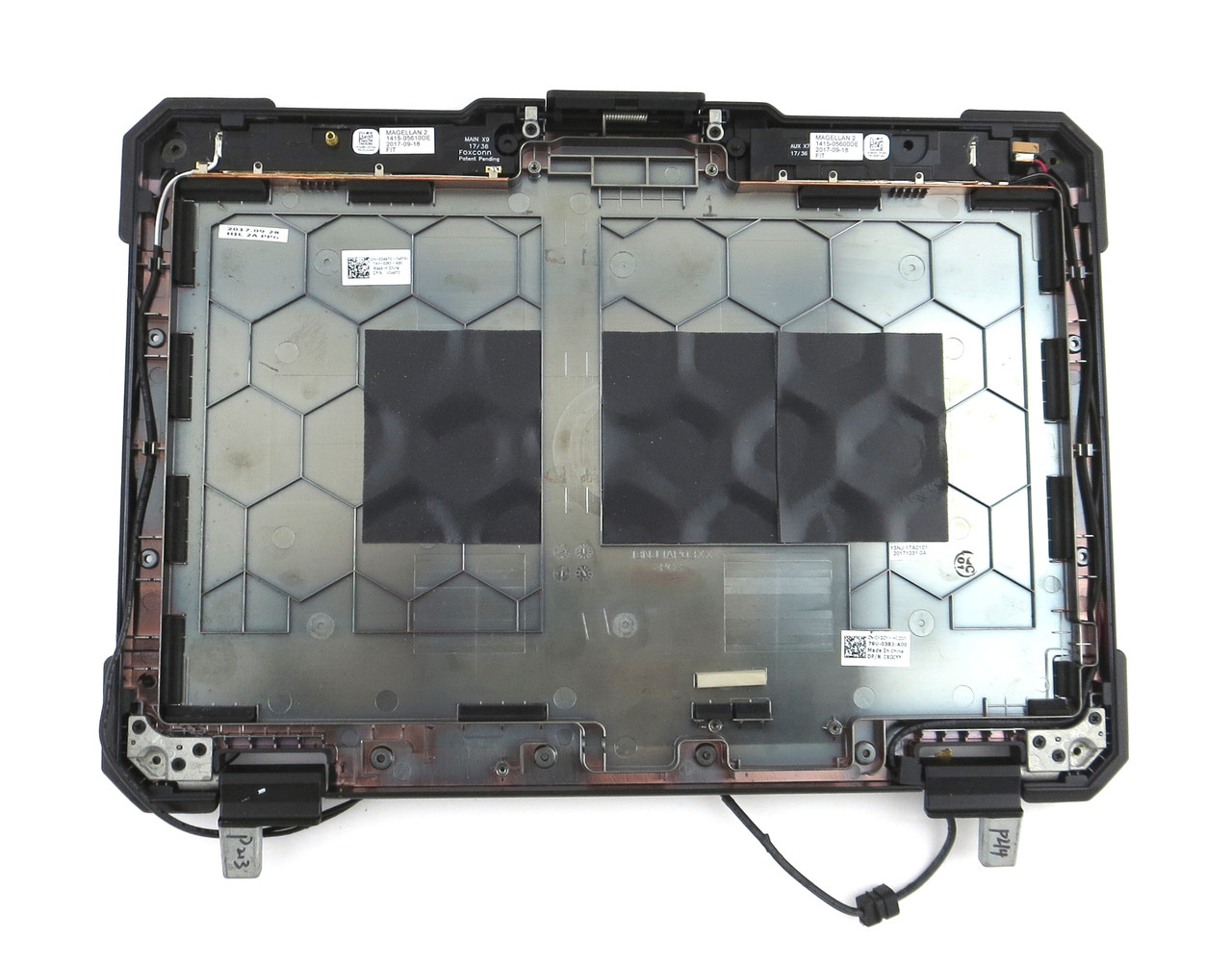 "Dell Latitude 14 Rugged 7404 14"" LCD Back Cover W/ Hinges - XGCYY"