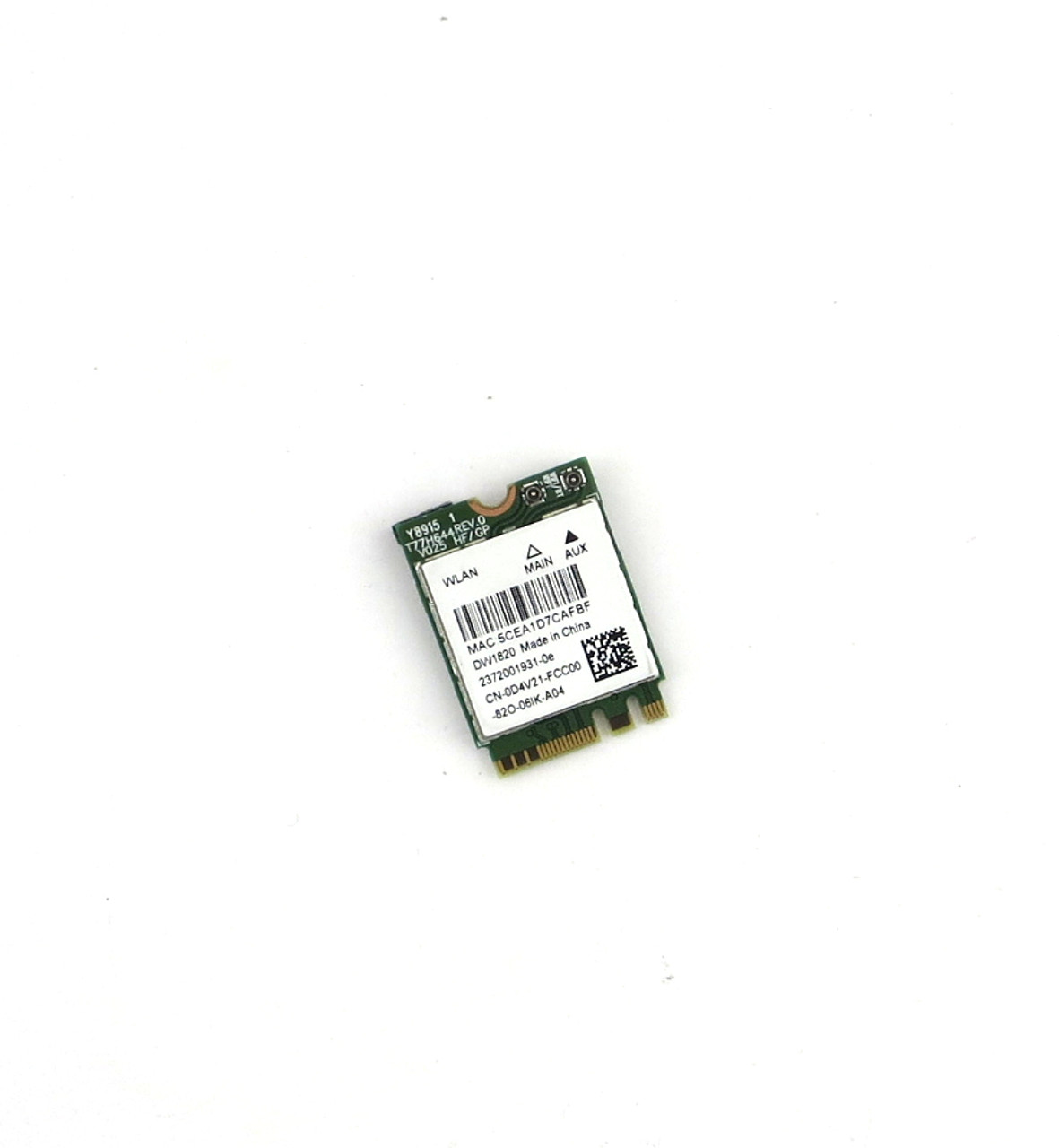 Dell 1820 DW1820 WLAN WiFi 802.11AC M.2 Card + Bluetooth 4.1  - D4V21