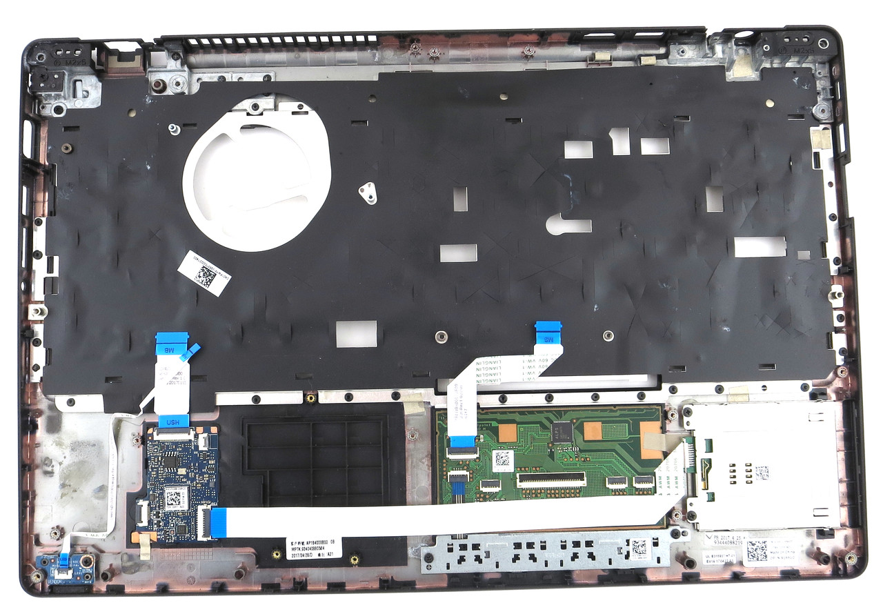 Dell Latitude 5580 / Precision 3520 Palmrest Touchpad with SC Reader - 1PMYX