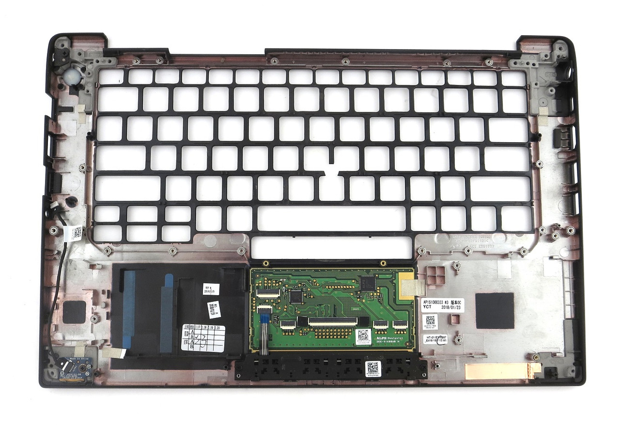 Dell Latitude 7480 Dual Point Palmrest Touchpad Assembly - 3YYFC