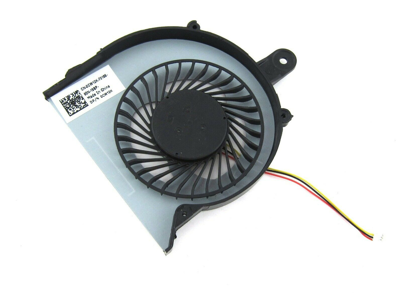 Dell Inspiron 15 3558 Laptop CPU Cooling Fan - CW12K