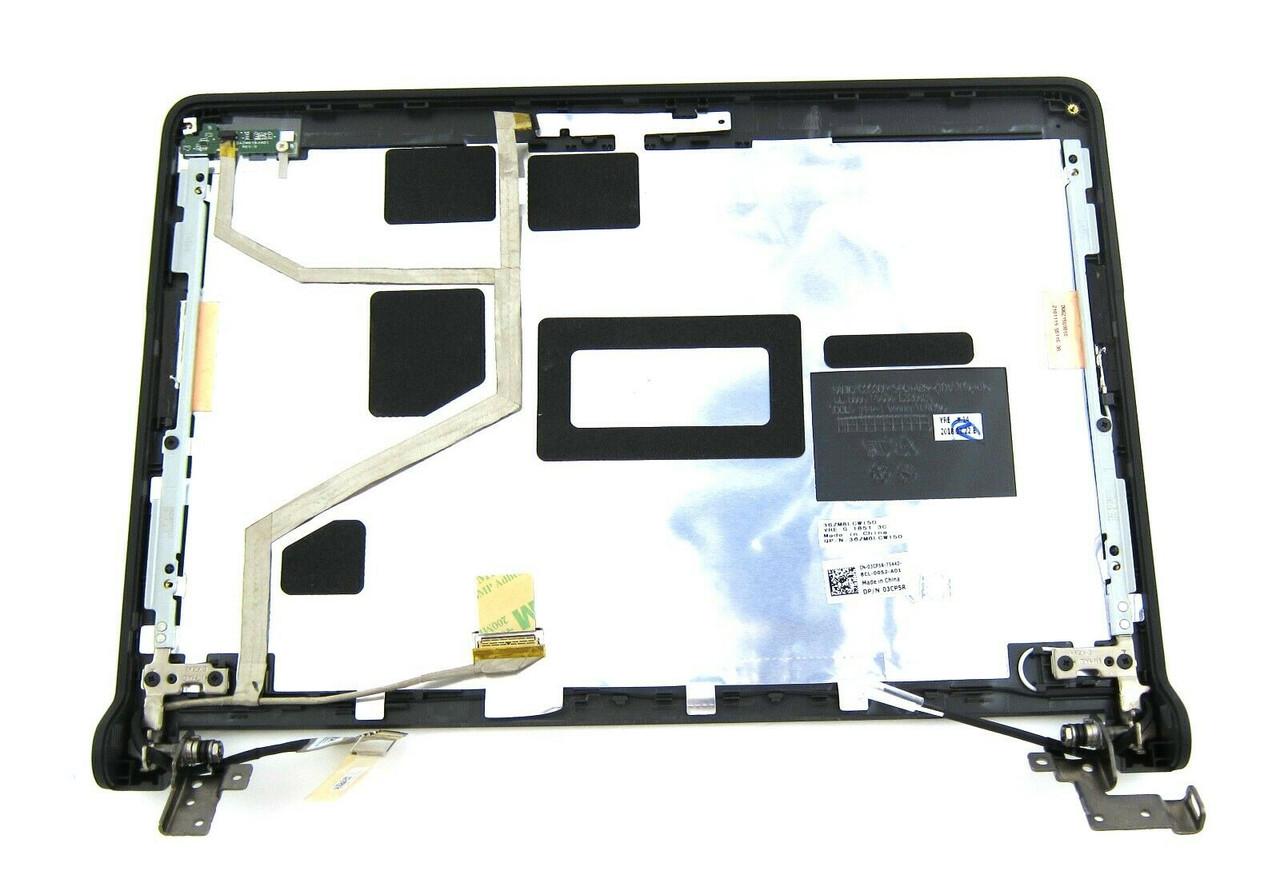"""Dell Chromebook 11 3120 11.6"""" LCD Back Cover & Hinges Non Touch - 3CP5R"""