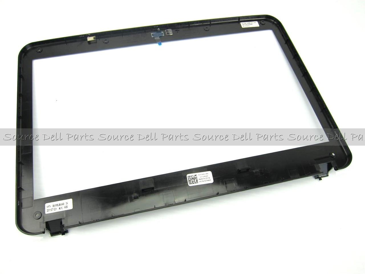 "Dell Vostro 1014 Vostro 1088 14"" LCD Front Trim Bezel W/ Cam Window - C74W4"
