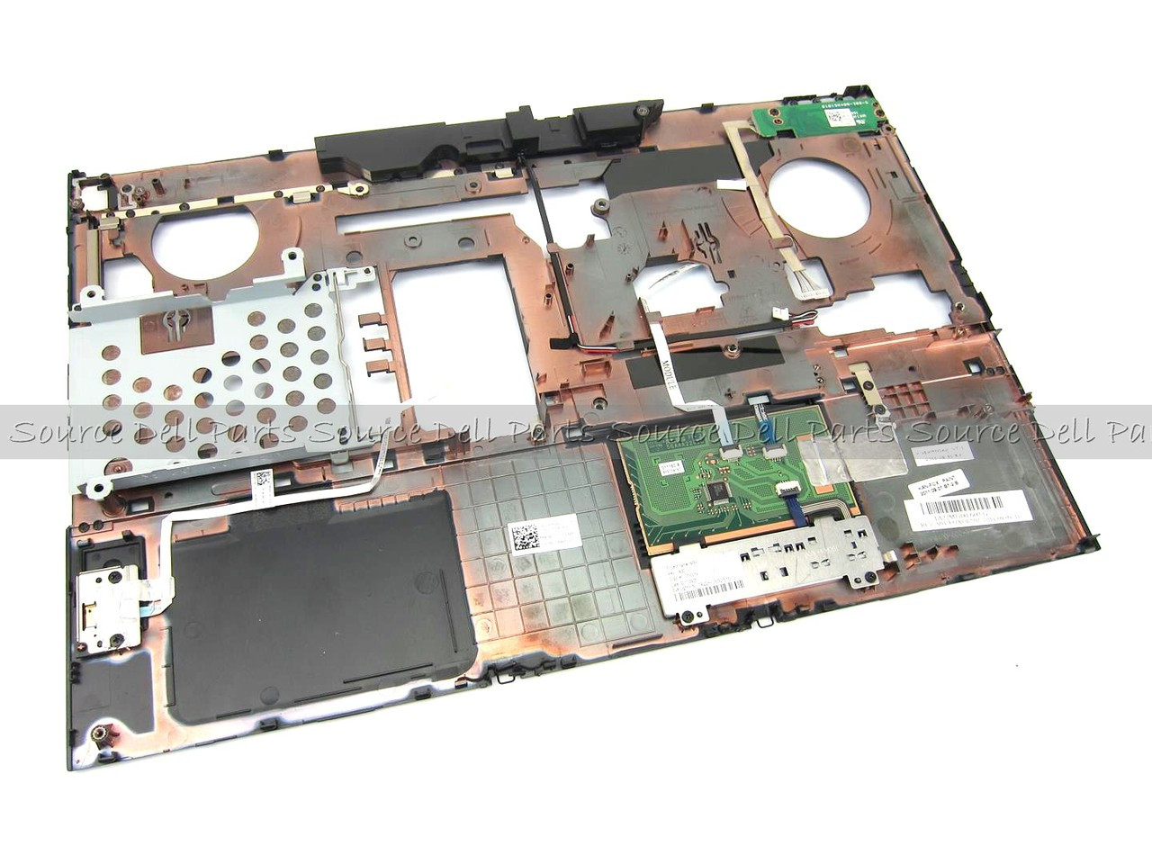 Dell Precision M4600 Palmrest Touchpad Assembly W/ Fingerprint Reader - 9W1W7