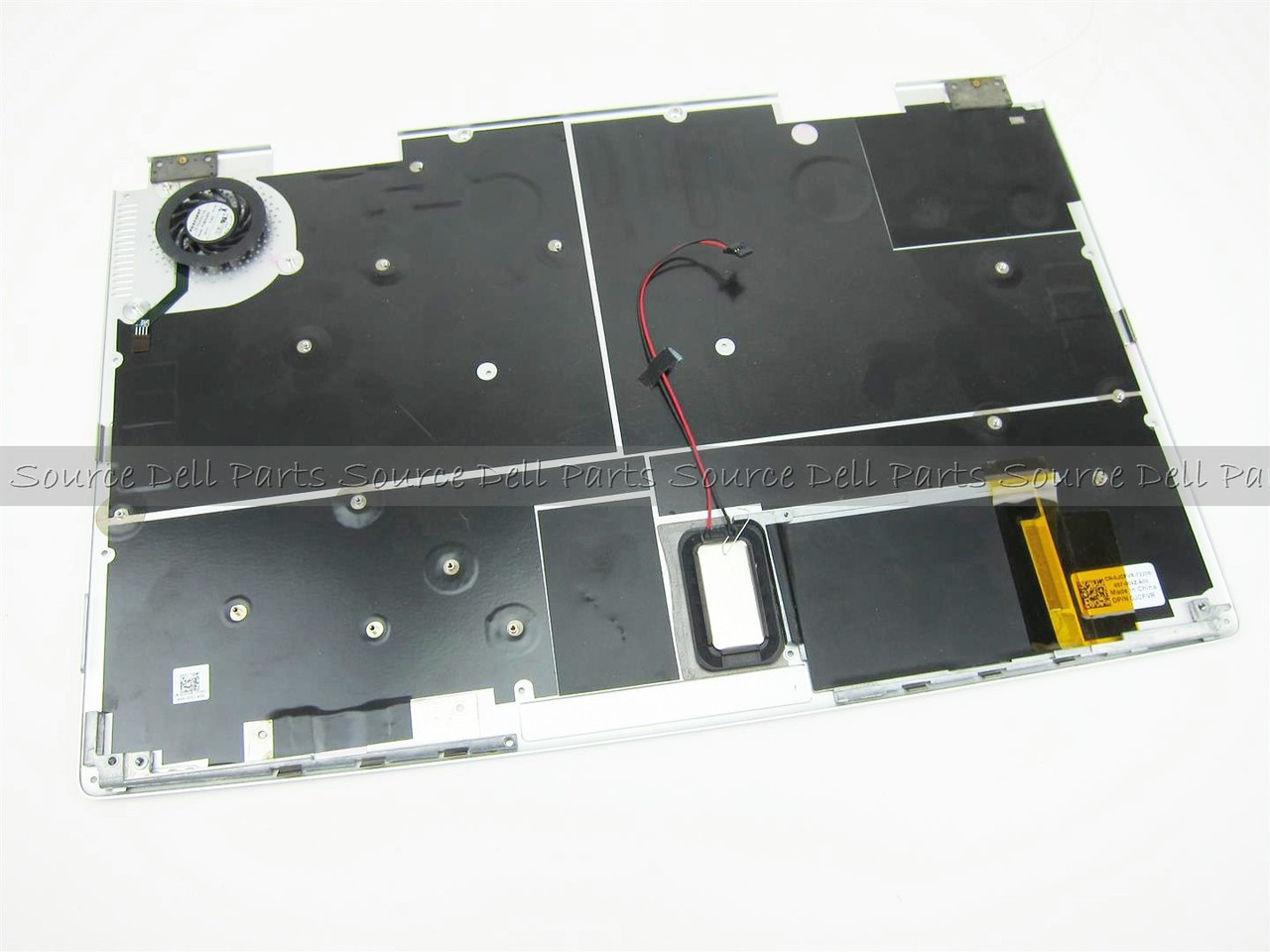 Dell Adamo XPS Laptop Bottom Base & Fan Assembly - JCFVR