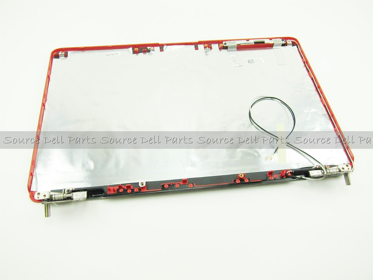 "Dell Inspiron 1545 1546 Red 15.6"" LCD Back Cover Lid with Hinges - T234P"