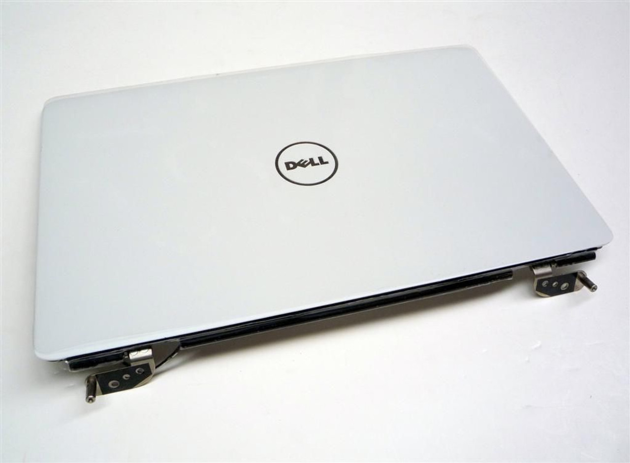 "Dell Inspiron 1545 1546 White 15.6"" LCD Back Cover Lid with Hinges - T233P"