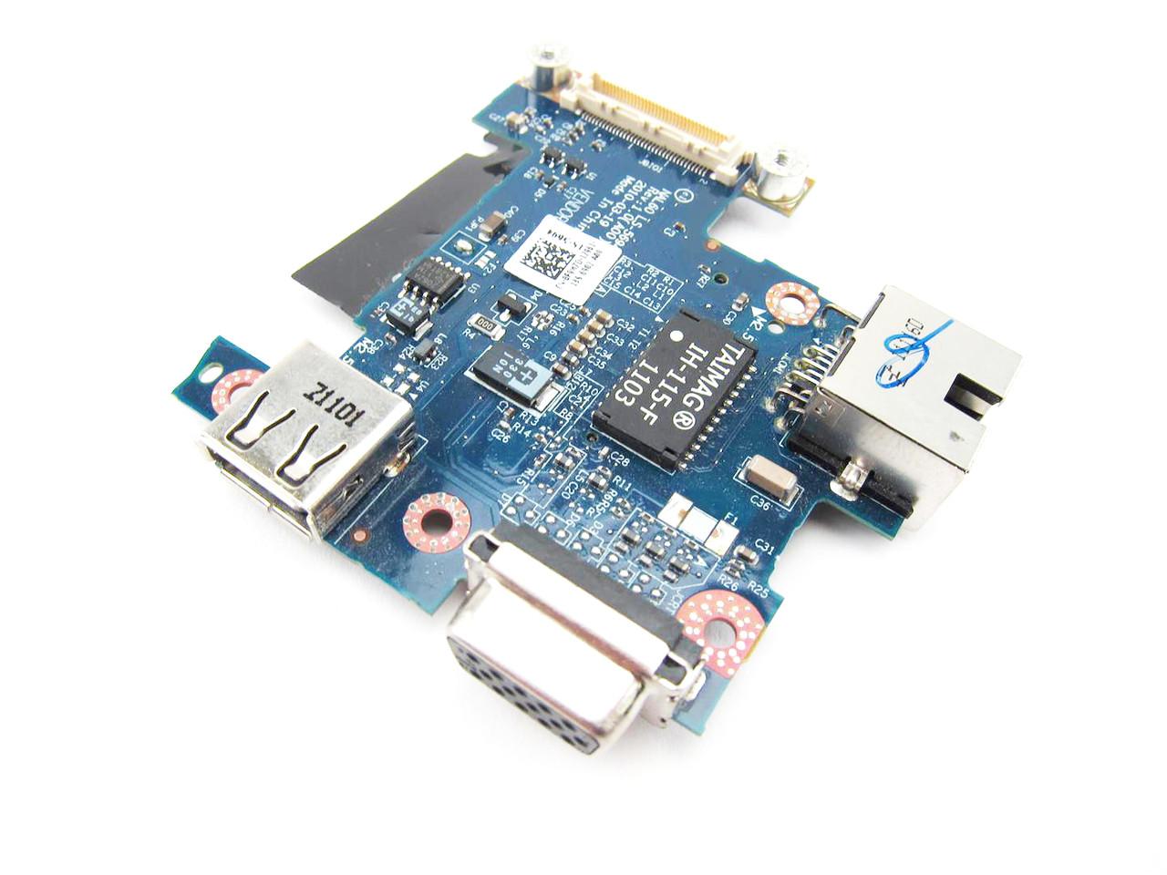 Dell Latitude E4310 VGA USB IO Circuit Board - F9M7D
