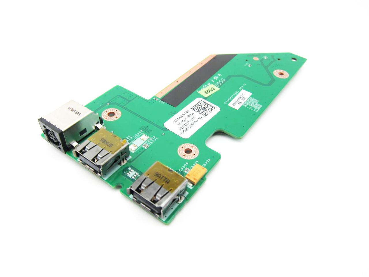 Dell Studio 1735 1737 DC Power Jack USB Circuit Board - NU327