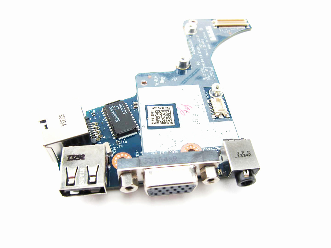 Dell Latitude E6420 USB / VGA / RJ-45 Port IO Circuit Board Intel Video - CYXNG