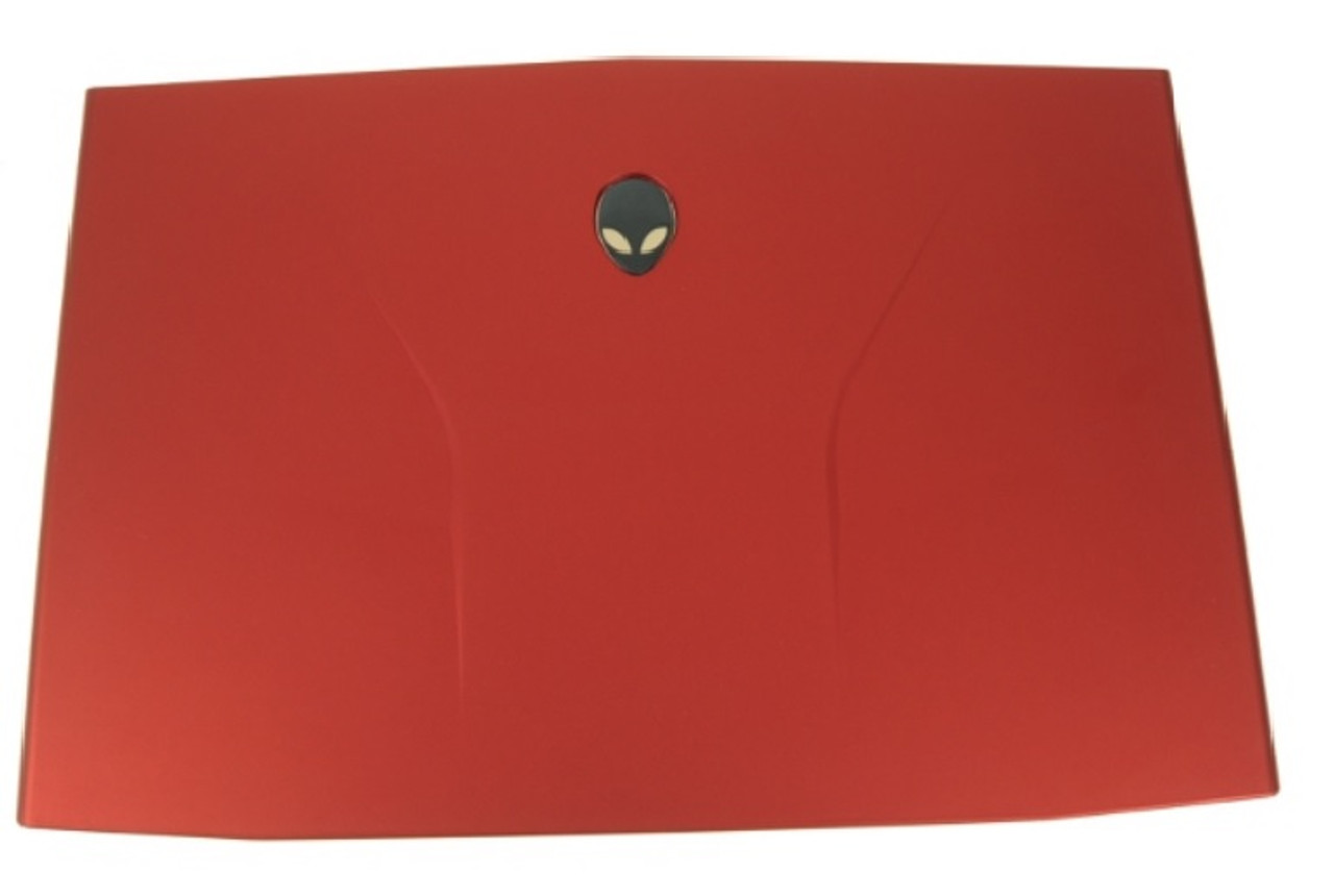 Alienware M17XR3 M17XR4 Red LCD Back Cover Lid Top - 0MKH2