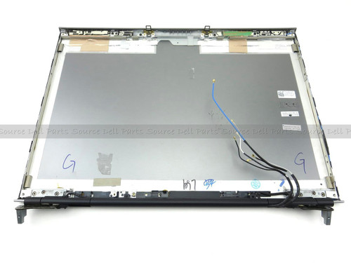 Dell Precision M6500 LCD Back Cover Lid Assembly with Hinges - XC6K8