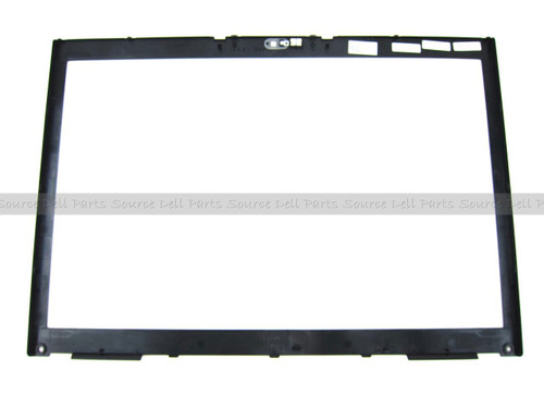 "Dell Precision M6400 17"" LCD Front Trim Cover Bezel Plastic - With  Camera Window - J409F"