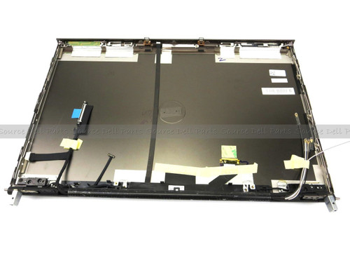 Dell Precision M6600 LCD Back Cover Lid with Hinges for TouchScreen LCD - K5W3R (B)