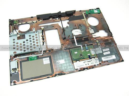 Dell Precision M4600 Palmrest Touchpad Assembly W/ FIPS Fingerprint Reader - KV8T2 (B)