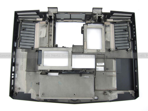 New Alienware M17x Black Bottom Base Assembly - J180N