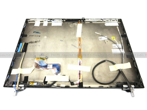 Dell Latitude E6400 LCD Back Cover Lid Assembly with Hinges For LED WXGA+ Display - WT197 - MT649