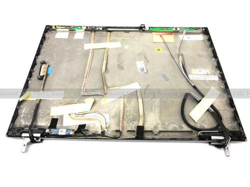 Dell Latitude E6410 LCD Back Cover Lid Assembly with Hinges - H61GF