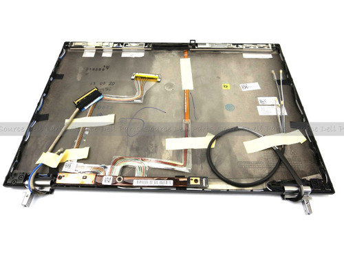 Dell Latitude E6400 LCD Back Cover w/ Hinges for LED WXGA Display - R150P - K802R