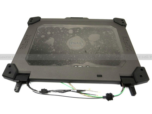Dell Latitude XFR E6420 Rugged LCD Back Top Cover Lid Assembly W/ Hinges - 10M3M